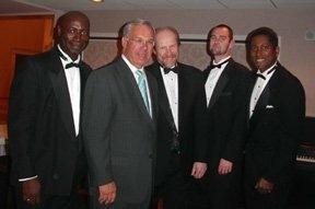 Boston Mayor Tom Mennino and Candido Bretto