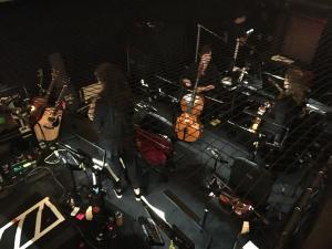 Hamilton's Orchestra Pit